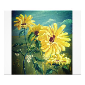 Sunflowers Art Photo