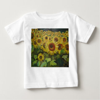 Sunflowers Baby T-Shirt