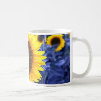 Sunflowers Basic White Mug