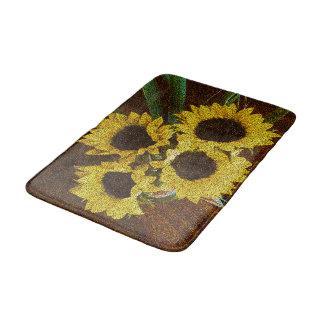Sunflowers Bath Mats