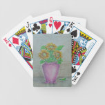 Sunflowers Bicycle Poker Deck