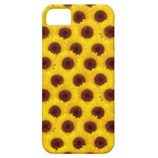 Sunflowers Bright Yellow & Brown Flowers case
