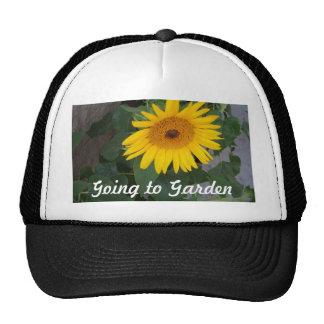 Sunflowers Bright Yellow Sunny Sunflowers Hat