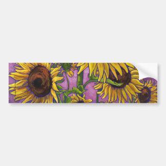 Sunflowers Bumper Sticker