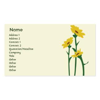 Sunflowers - Business Business Card Templates