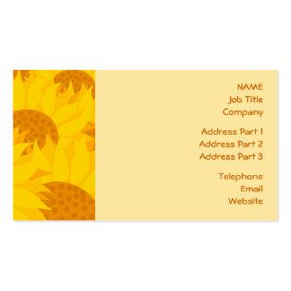 Sunflowers Business Card Templates