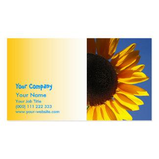 Sunflowers Business Card Template