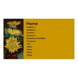 Sunflowers Business Card