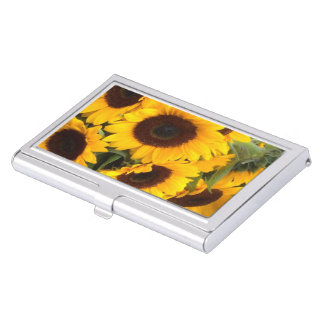 Sunflowers Business Card Holder