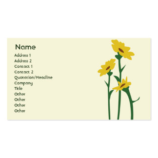 Sunflowers - Business Pack Of Standard Business Cards