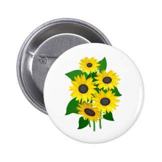 Sunflowers Buttons