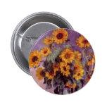 Sunflowers by Claude Monet 6 Cm Round Badge