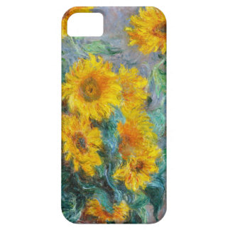 Sunflowers by Claude Monet iPhone 5 Cases
