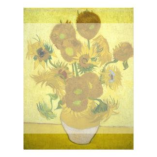 Sunflowers by Vincent Van Gogh 21.5 Cm X 28 Cm Flyer