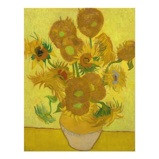 Sunflowers by Vincent van Gogh Flyer