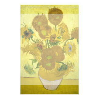 Sunflowers by Vincent Van Gogh Flyers