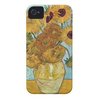 Sunflowers by Vincent Van Gogh iPhone 4 Cases