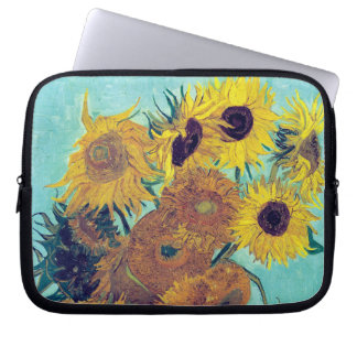 Sunflowers by Vincent Van Gogh Laptop Sleeve