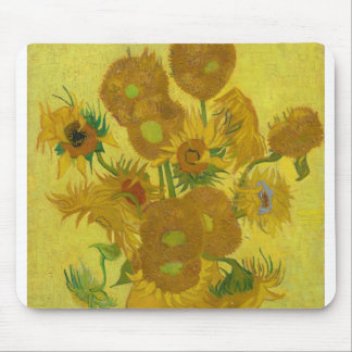 Sunflowers by Vincent van Gogh Mouse Pad
