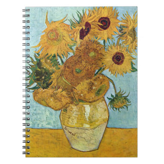 Sunflowers by Vincent Van Gogh Notebooks