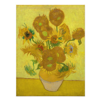 Sunflowers by Vincent van Gogh Photograph