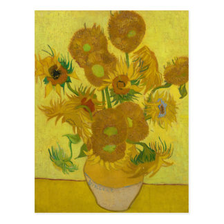 Sunflowers by Vincent van Gogh Postcard