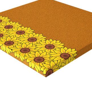 Sunflowers canvas print - customize