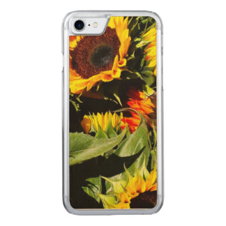 Sunflowers Carved iPhone 8/7 Case