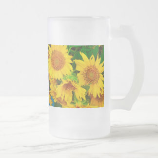 Sunflowers City Market KC Farmer's Market Mug
