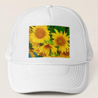 Sunflowers City Market KC Farmer's Market Trucker Hat