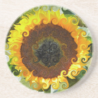 SUNFLOWERS COASTER