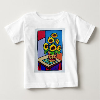 Sunflowers D 12 by Piliero Baby T-Shirt