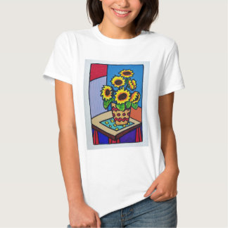 Sunflowers D 12 by Piliero Shirts