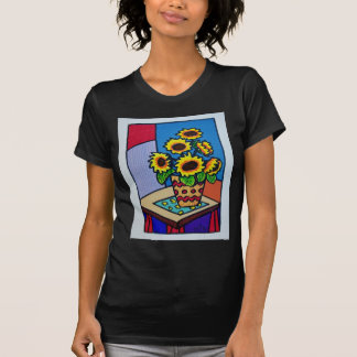 Sunflowers D 12 by Piliero T-Shirt
