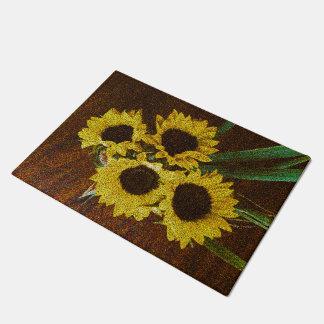 Sunflowers Doormat