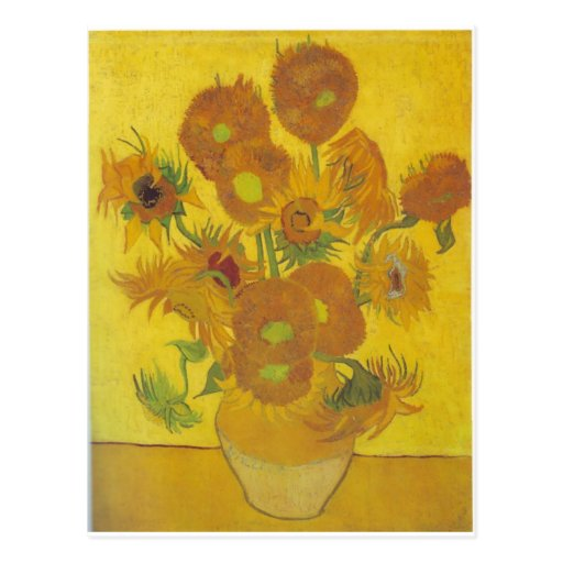 Sunflowers F. 458 ~ Van Gogh Postcards