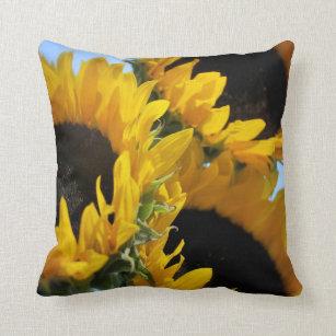 Sunflowers Floral Cushion