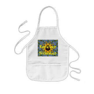 sunflowers, Forever Summer Kids Apron