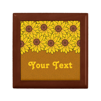 Sunflowers gift box, customize gift box