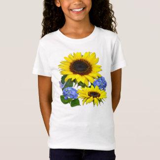 SUNFLOWERS & HYDRANGEAS ~ Shirt