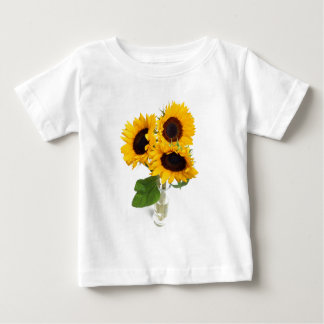 Sunflowers in a Vase Baby T-Shirt