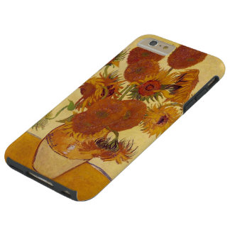 Sunflowers in a Vase (F454) Van Gogh Fine Art Tough iPhone 6 Plus Case