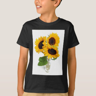Sunflowers in a Vase T Shirts