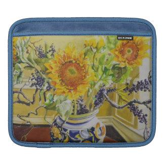 Sunflowers in an Italian Vase iPad Sleeve
