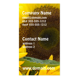 Sunflowers in Bloom Pack Of Standard Business Cards