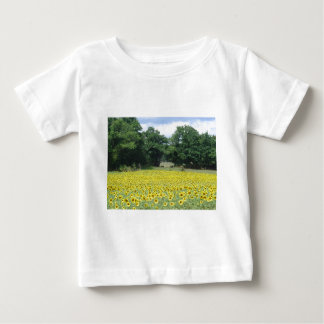Sunflowers in Limousin Baby T-Shirt