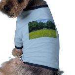 Sunflowers in Limousin Pet T-shirt