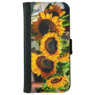 SunFlowers iPhone 6 Wallet Case