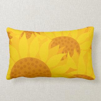 Sunflowers Lumbar Cushion