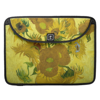 Sunflowers Macbook Pro Flap Sleeve